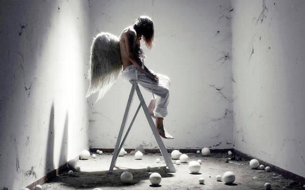 Photograph - Imprisoned Guardian Angel  by Doc Braham