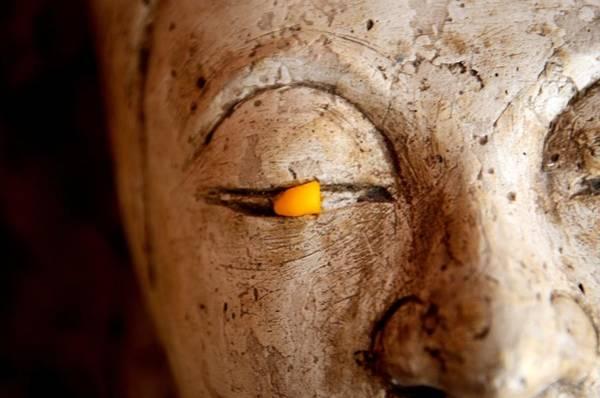 Buddhist Temple Wall Art - Photograph - Improv by Dean Harte