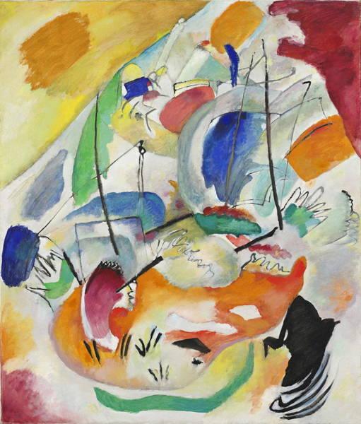Endless Painting - Improvisation  Sea Battle by Wassily Kandinsky