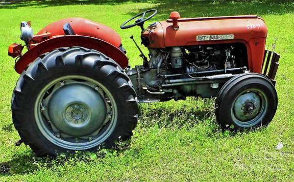 Imt 539 Tractor Art Print