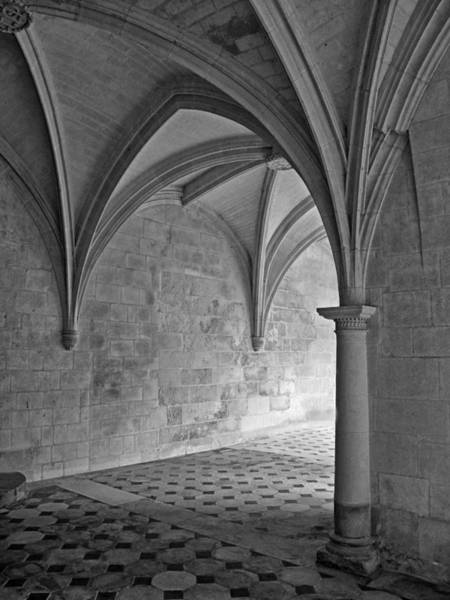 Fontevraud Photograph - In A Cloister Gallery by Dave Mills