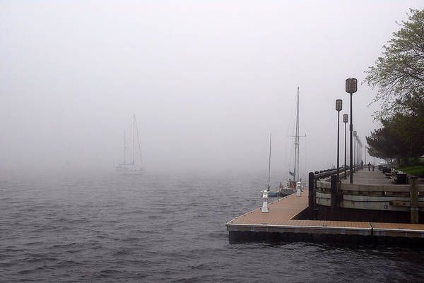 Photograph - In A Fog In Newburyport by AnnaJanessa PhotoArt