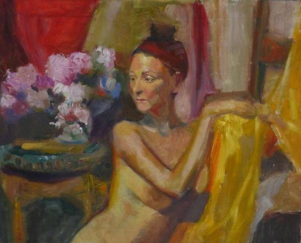 Painting - In Amsterdam by Irena Jablonski