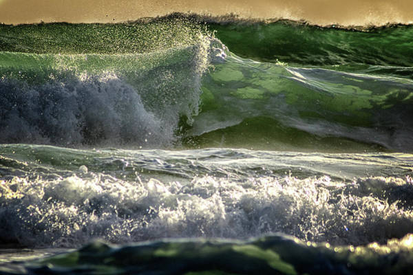 Cyclone Wall Art - Photograph - In Between Breaths by Stelios Kleanthous