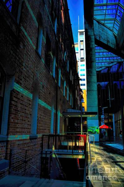 Photograph - In-between Buildings Australia by Diana Mary Sharpton