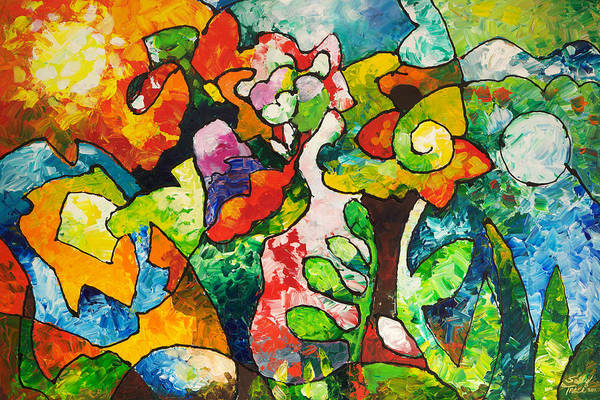 Painting - In Bloom by Sally Trace