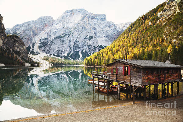 Wall Art - Photograph - The Boathouse by JR Photography