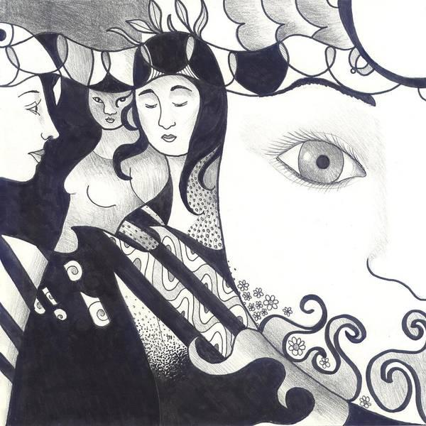 Digital Art - In Feminine Form Part 2 by Helena Tiainen