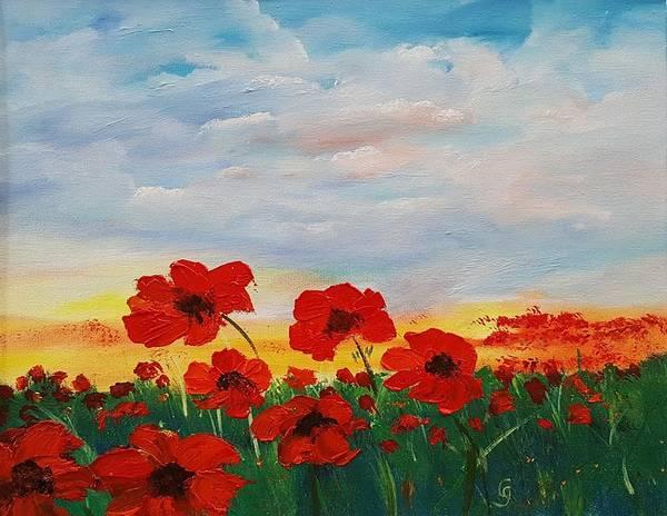Painting - In Flanders Field     62 by Cheryl Nancy Ann Gordon