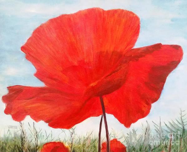 Wall Art - Painting - In Flanders Fields by Julie Bond