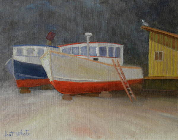 Painting - In For Repair by Scott W White