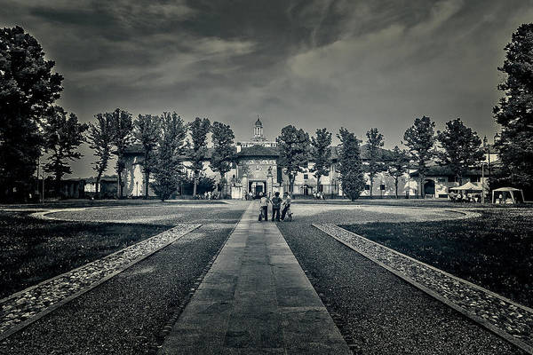 Photograph - In Front Of Monastery by Roberto Pagani