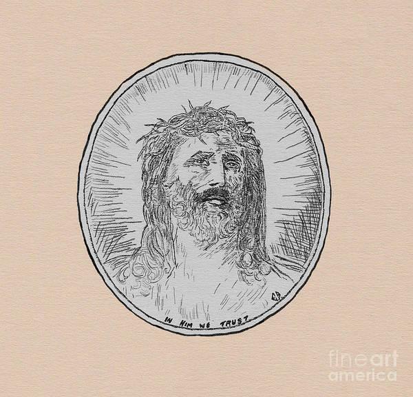 In Him We Trust Art Print