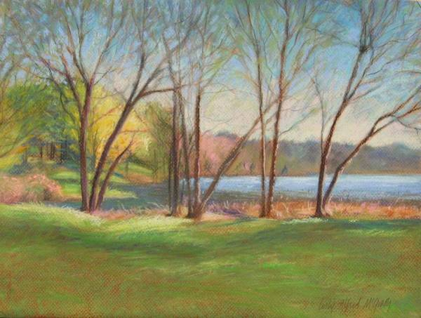 Wall Art - Painting - In Just Spring At Plug by Leslie Alfred McGrath