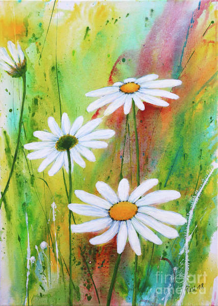 Wall Art - Painting - In Love With The Summer by Jutta Maria Pusl