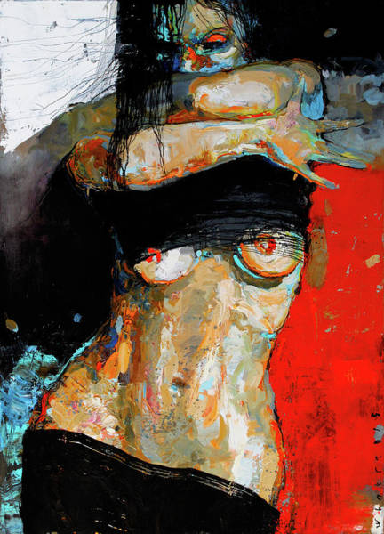 Wall Art - Painting - In Motion by Viktor Sheleg