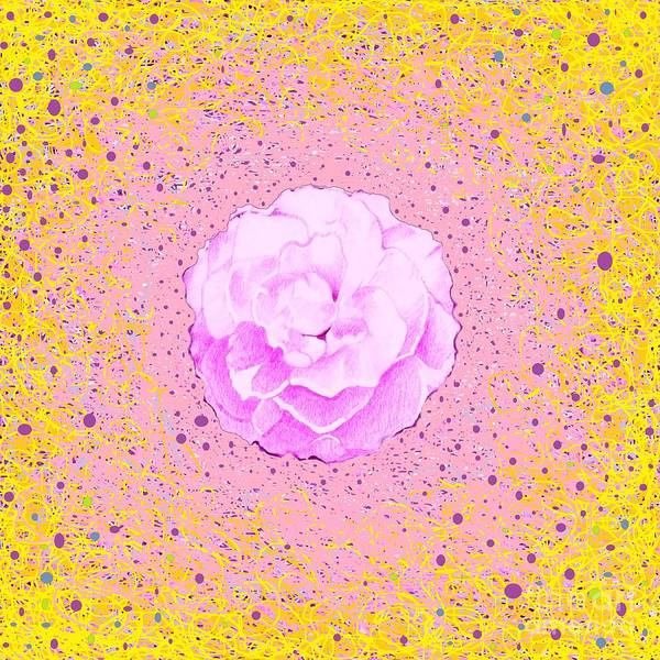 Digital Art - In Pink by Helena Tiainen
