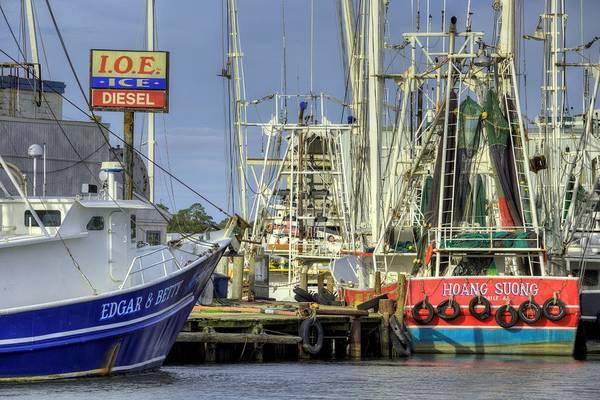 Photograph - In Port In Bayou La Batre by JC Findley