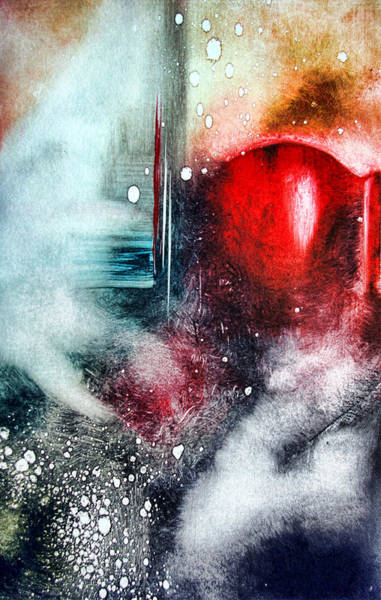 Wall Art - Painting - In Red by Leyla Munteanu