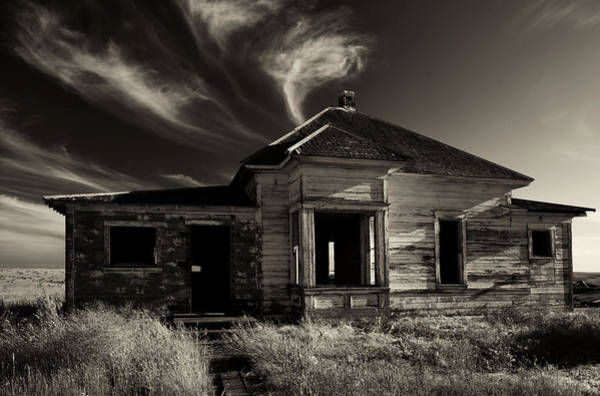 Central Oregon Photograph - In Ruin by Mike  Dawson