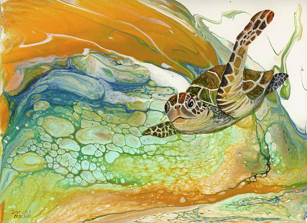 Painting - In Search Of Sea Grass  by Darice Machel McGuire