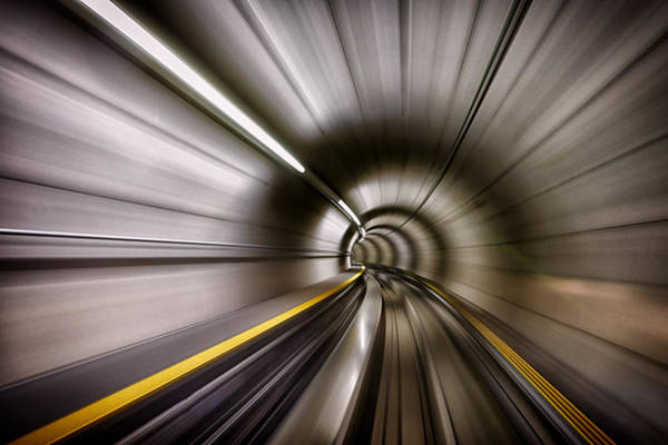 Speed Wall Art - Photograph - In by Sergei Ustinov