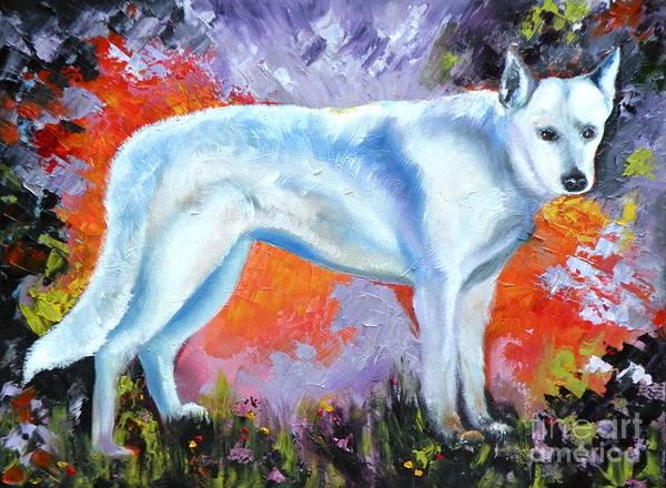 Painting - In Shepherd Heaven by Susan A Becker
