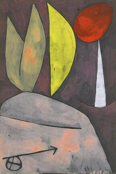 Painting - In Stellung In Position By Paul Klee 1939 by Paul Klee