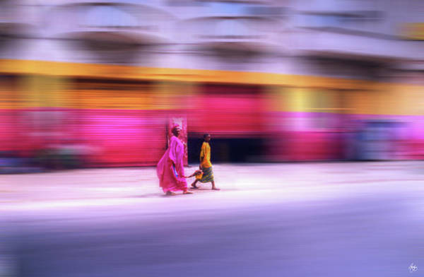 Photograph - In Sync In Senegal by Wayne King