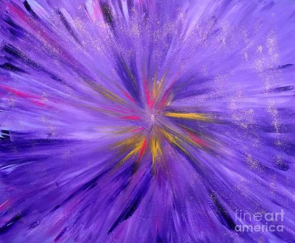 Painting - In The Beginning by Karen Jane Jones