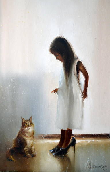 Painting - In The Big Mammy's Shoes by Igor Medvedev