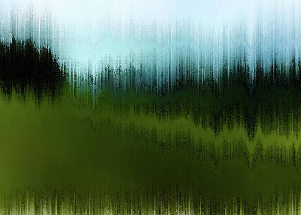 Digital Art - In The Black Forest by Gina Harrison