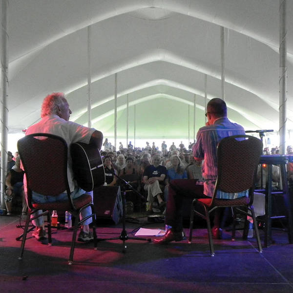 Photograph - In The Blues Tent by Rosanne Licciardi