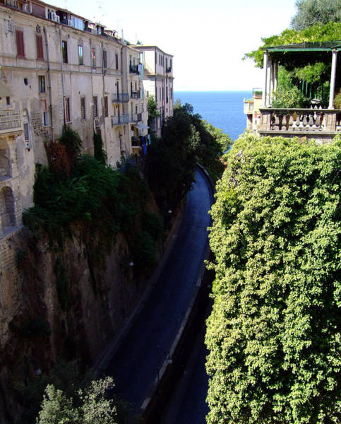 Wall Art - Photograph - In The Center Of Sorrento Italy by Mindy Newman
