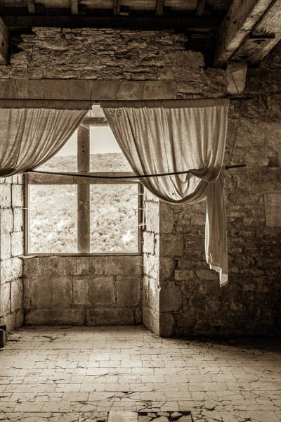 Wall Art - Photograph - In The Chateau De Bruniquel by W Chris Fooshee