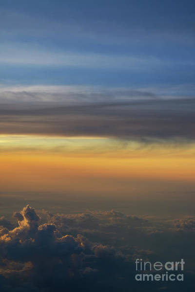 Delta Wing Photograph - In The Clouds I Dream by Michael Ver Sprill