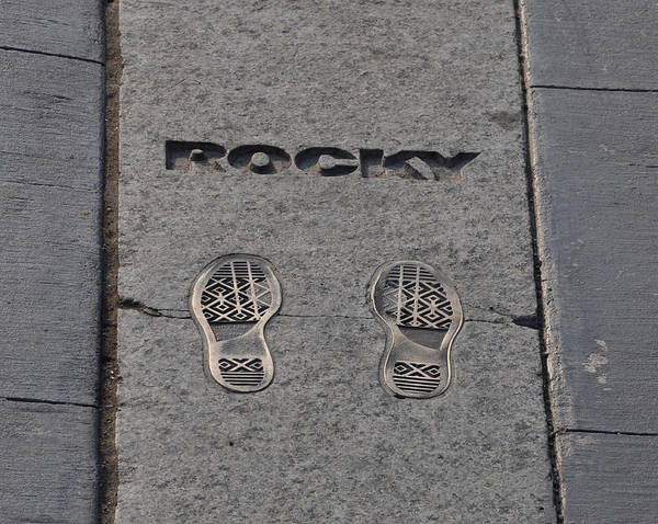 Footstep Wall Art - Photograph - In The Footsteps Of Rocky by Bill Cannon