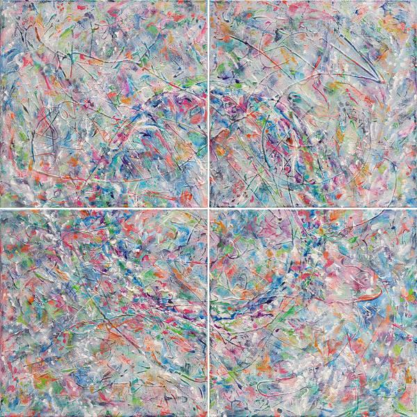 Essence Digital Art - In The Garden - Combined by Julie Turner