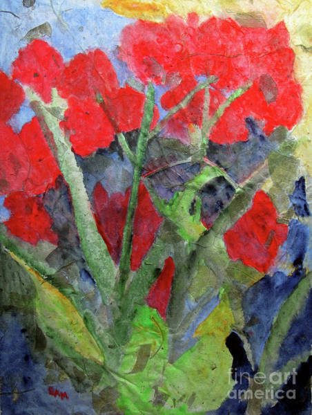Painting - In The Garden by Sandy McIntire