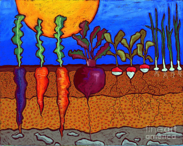 Pastel Drawing Painting - In The Ground by David Hinds