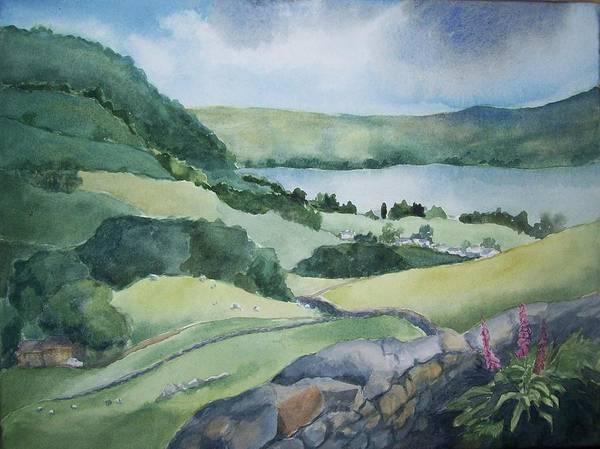 Windermere Painting - In The Lake District by Lynn Macintyre