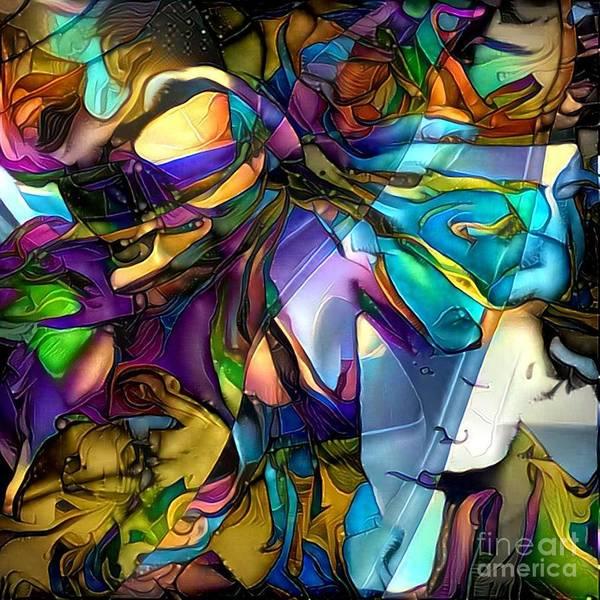 Wall Art - Digital Art - In The Light by Amanda Moore