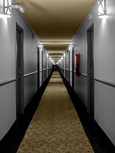 Photograph - In The Long Hall by Leon deVose