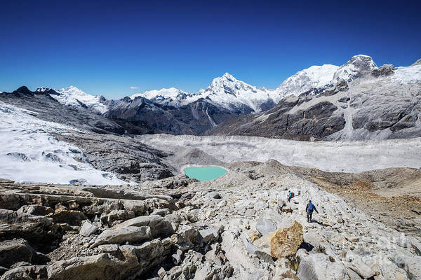 Blanca Wall Art - Photograph - In The Middle Of The Cordillera Blanca by Olivier Steiner