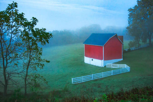 Photograph - In The Midst Of The Mist by Todd Klassy