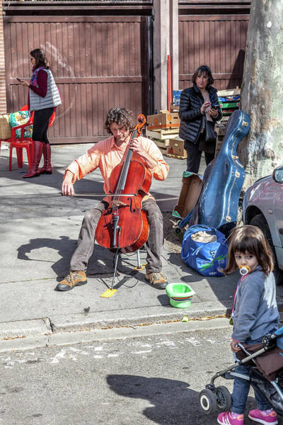Street Performers Photograph - In The Moment by W Chris Fooshee