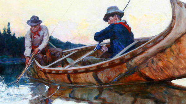 Painting - In The Net by Philip R Goodwin