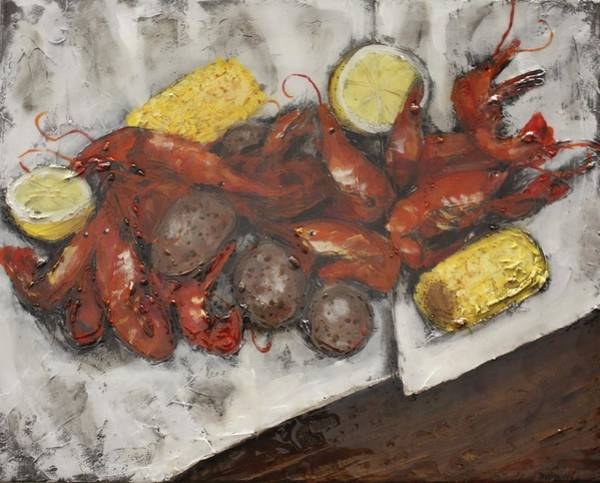 Craw Wall Art - Mixed Media - In The News by Maria Boudreaux