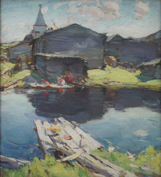 In The North Art Print by Abram Arkhipov