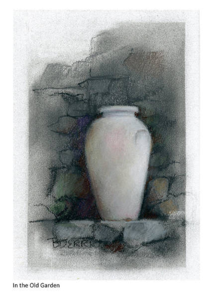 Pastel - In The Old Garden by Betsy Derrick